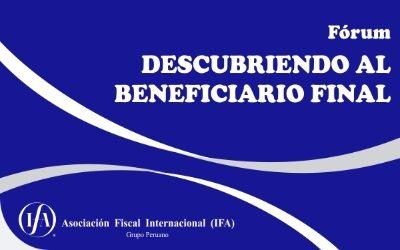 Fórum: Descubriendo al Beneficiario Final