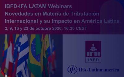 Novedades en Materia de Tributación Internacional y su Impacto en América Latina